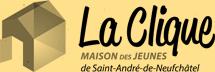 Logo La clique noir et blanc